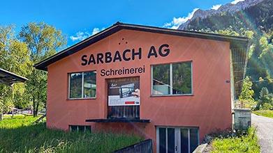 Sarbach AG Frutigen Firmengebäude